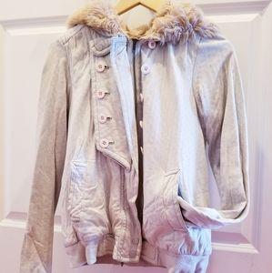 Marc Jacobs Light Gray Fleece hoodie